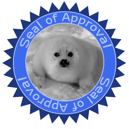 seal of approval. SealOfApproval.